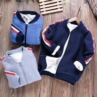 男童外套冬季宝宝棒球服儿童装大童夹棉保暖夹克衫