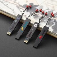 复古典红木质u盘32g 中国风个性创意公司商务礼品定制刻字logo