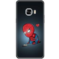 钢铁侠漫威英雄c5复联手机壳全包硅胶软保护套c9 pro男个性 三星c7 可爱蜘蛛侠