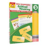 Evan-Moor Skill Sharpeners Critical Thinking Grade 2 小学二年级批判