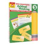 Evan-Moor Skill Sharpeners Critical Thinking Grade 2 小学二年级批