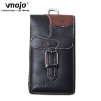 智能手机包男穿皮带腰包多功能竖款5.5 6寸迷你挂套挂包 V20A黑色 送挂扣 5.5-6寸手机