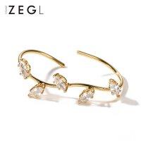ZENGLIU日韩时尚潮人戒指女 饰品镀彩金色食指环戒子个性简约首饰