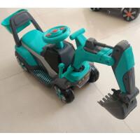 音乐学步车男孩挖土机滑行儿童玩具挖掘机可坐可骑宝宝大号挖机