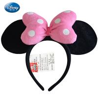 儿童节日礼物六一礼品迪士尼米老鼠头箍 米妮蝴蝶结发箍生日游玩头饰