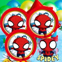 孩派 儿童生日派对用品 Q版蜘蛛侠主题系列派对装饰用品