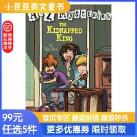 进口英文原版The Kidnapped K A to Z 神秘案件 #11 被绑架的国王6-12岁