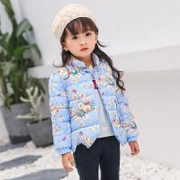 2017韩版儿童棉服外套男女童秋冬时尚保暖棉内胆宝宝童装外套