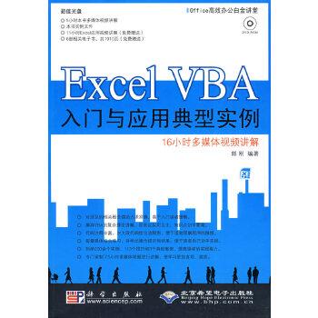 Excel VBA入门与应用典型实例(1DVD)