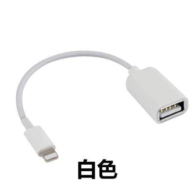 苹果OTG转换线MIDI线USB铝合金转接头iphone5/6S/iPad平板通用) OTG转接线【支持9.2-10.2系统】 其他