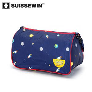 【SUISSEWIN旗舰店 支持礼品卡支付】儿童时尚休闲单肩包男童女童户外出行旅行包儿童包包