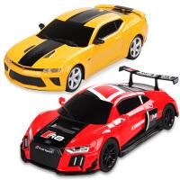 合金小汽车玩具车仿真模型智能触摸赛跑车宾利奥迪本田男孩