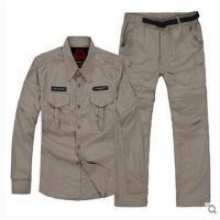 男士户外衣服快干衣裤套装防晒运动服冰途速干衣裤套装可拆短袖短裤