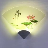 壁灯 床头灯卧室过道客厅现代简约墙壁铝灯led温馨创意个性灯走廊小夜灯 创意灯具