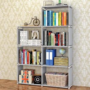 亚思特时尚层架 自由组合架子收纳置物架实用书柜 书架 sj0405 史努比