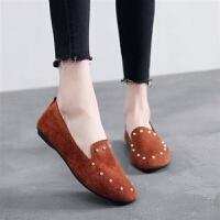 新款老北京女鞋平底软底单鞋时尚舒适孕妇鞋黑色工作鞋