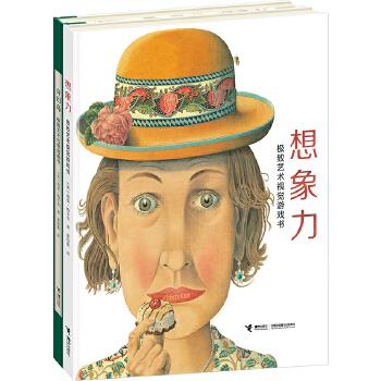 我的极致艺术系列(套装共2册,含《想象力》《奇幻岛》两本书) (风靡全球,挑战极限,脑洞大开。立体书+翻翻书+视觉书+游戏书。全球著名印刷集团当纳利出品,高品质童书,适合4-10岁)