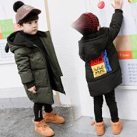 儿童棉衣外套中长款男童冬装宝宝棉袄小孩羽绒冬季