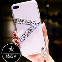iphone8plus手机壳8pls保护套6Plu钻pg8p包边i7plus创意iphone7p潮牌 iPhone8P