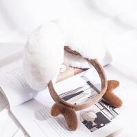 耳罩保暖耳罩女冬季保暖耳捂耳罩可伸缩可爱耳套亲子圣诞耳罩