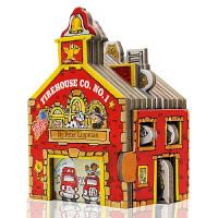 进口英文原版 Workman Mini House Firehouse Co. No. 1 迷你屋系列 消防站 造型书