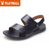 【全】凉鞋男夏季新款牛皮沙滩鞋韩版休闲男士凉鞋凉拖鞋