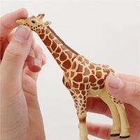 仿真野生动物模型男女孩玩具老虎鳄鱼大象狮子熊猫猩猩