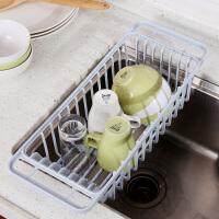 厨房置物架水槽沥水篮碗盘沥水架碗碟架晾碗架塑料洗菜滤水篮