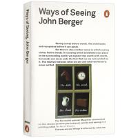正版现货观看之道 约翰伯格 英文原版 Ways of Seeing 企鹅经典 艺术启蒙读物 艺术入门经典 英文版进口英