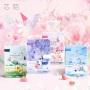 韩国卡通少女心A5磁扣本学生文具手账本清新插画记事本彩页日记本