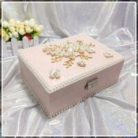 项链戒指小饰品收纳盒珠宝首饰盒公主欧式韩国多层简约多功能创意