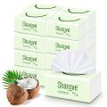 喜朗 居家椰果抽纸3层112抽x16包椰果本色 整箱装 纤柔抽取式面巾纸