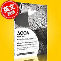 现货 ACCA考试 新版 管理会计练习册 英文原版 Management Accounting Practice &