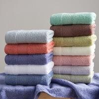 【2条装】纯棉毛巾 纯棉洗脸洗澡家用成人男女帕全棉柔软吸水不掉毛