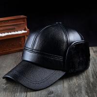 老人帽子男冬天中年人棉帽老年人帽老头帽中老年帽爸爸保暖护耳帽
