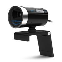 台式电脑用高清摄像头笔记本视频头带麦克风话筒美颜主播 黑色
