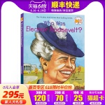 英文原版 埃莉诺・罗斯福是谁? Who Was Eleanor Roosevelt? Who Was/Is 系列人物传记