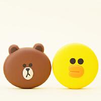 韩国卡通 莎莉 布朗熊充电宝 可爱迷你 苹果iphone7 6plus 安卓 小米 华为 荣耀 魅族 oppo vivo 通用 便携移动电源