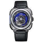 时尚先锋:驰客CHIC WATCH-Galaxy-银河系列 蓝调蓝 CC-G-SRB-001 机械表