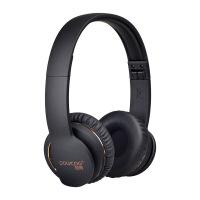 【新品上市】 铂典(POLVCDG) 4.1 蓝牙耳机头戴式 无线话筒运动游戏耳麦 挂耳式商务 爵士黑