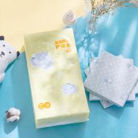 全棉时代 婴童隔尿护理垫大码(蓝呦呦桃心)45*45cm20片/袋