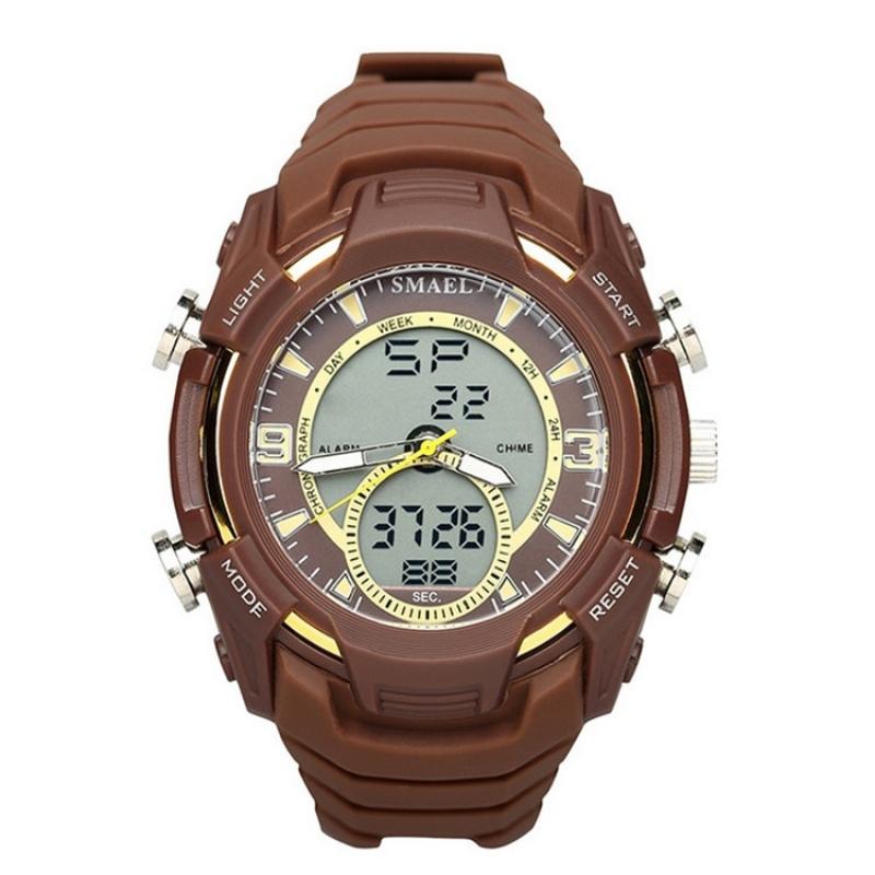 斯麦尔(SMAEL) 手表 电子表 1349 防水夜光手表户外运动多功能男士电子手表 新品上新,多多惠顾