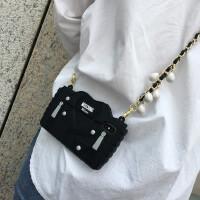 欧美米兰走秀包苹果xs max硅胶套女iPhoneX 8plus手机壳7p斜背长 苹果6/6s 衣服包包+葡萄黑皮链