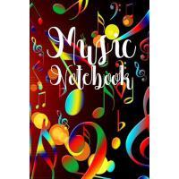 【预订】Music Notebook: Music Notebook Journal for Note Taking W