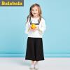 巴拉巴拉童装女童套装小童宝宝2017秋装新款女孩儿童长袖两件套女