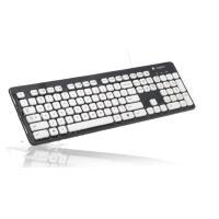 罗技(Logitech)K310 有线水洗键盘 USB电脑办公防水超薄巧克力键帽