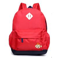 幼儿园书包男童蓝色-周岁男女孩防水宝宝背包儿童双肩包背包 红色大款 小学