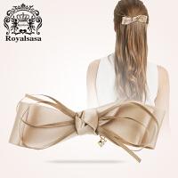 皇家莎莎RoyalSaSa发夹发饰韩国发卡顶夹蝴蝶结弹簧夹女头饰盘发卡子头花