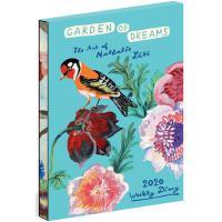 英文原版 Nathalie Lété 插画 2020年手帐日历 梦中的花园 周记笔记本 Garden of Dream