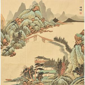 河北省太行书画院院士 王玉清《妙境》SS3412